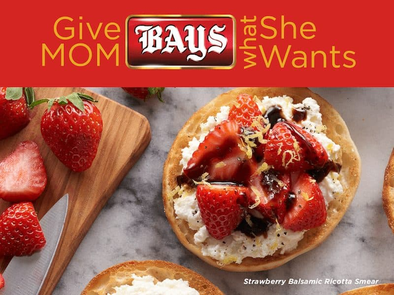Bays English Muffins strawberry recipe