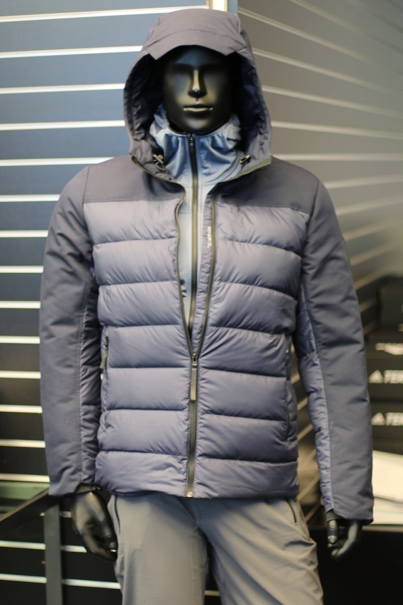 adidas Terrex outdoor gray jacket full