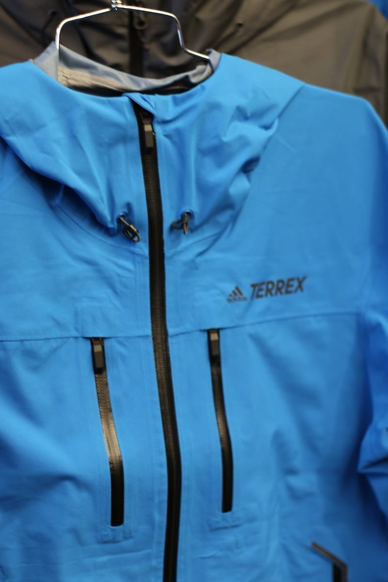 adidas Terrex outdoor windbreaker blue
