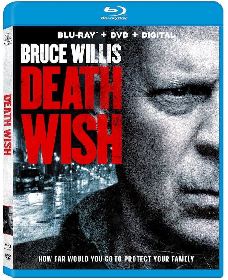 Death Wish Bruce Willis Blu-Ray