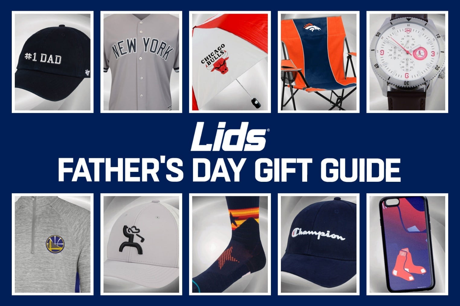 Lids.com Father's Day Gift Guide 2018