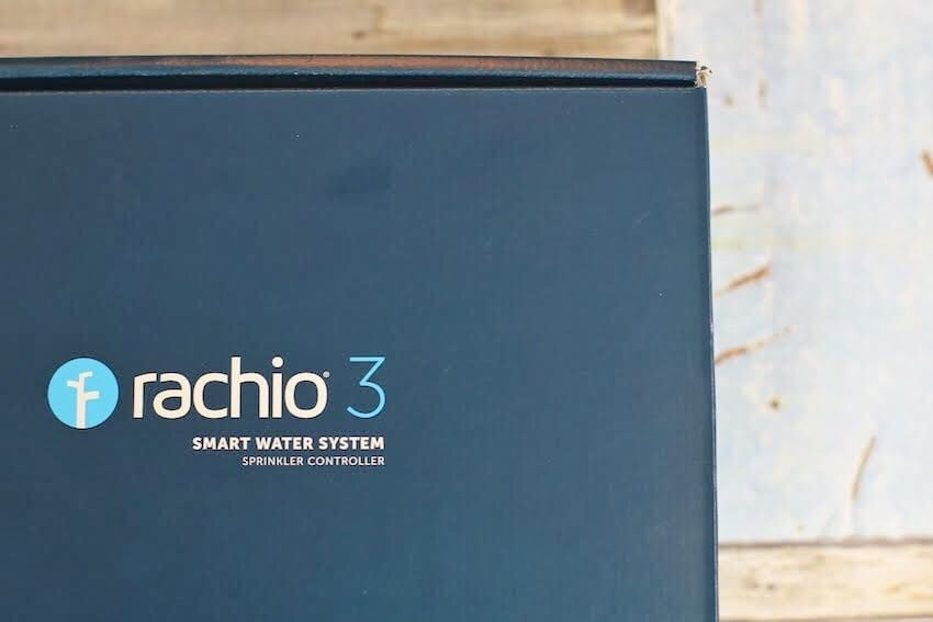 Rachio 3 Smart Water System box
