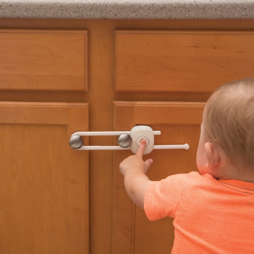 Safety 1st cabinet latch baby