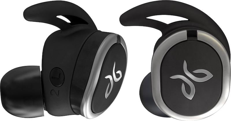 Jaybird wirless sport headphones close up