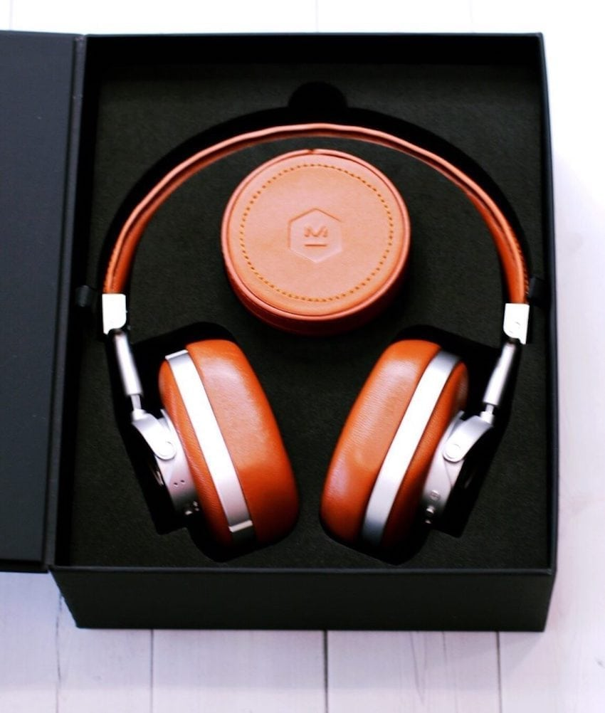 Master Dynamic wireless headphones in box