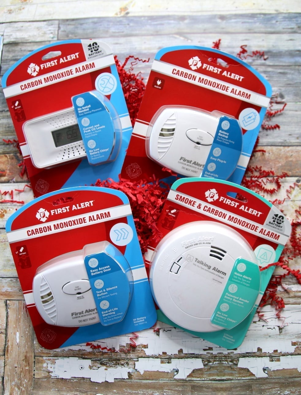 First Alert CO Alarm - products