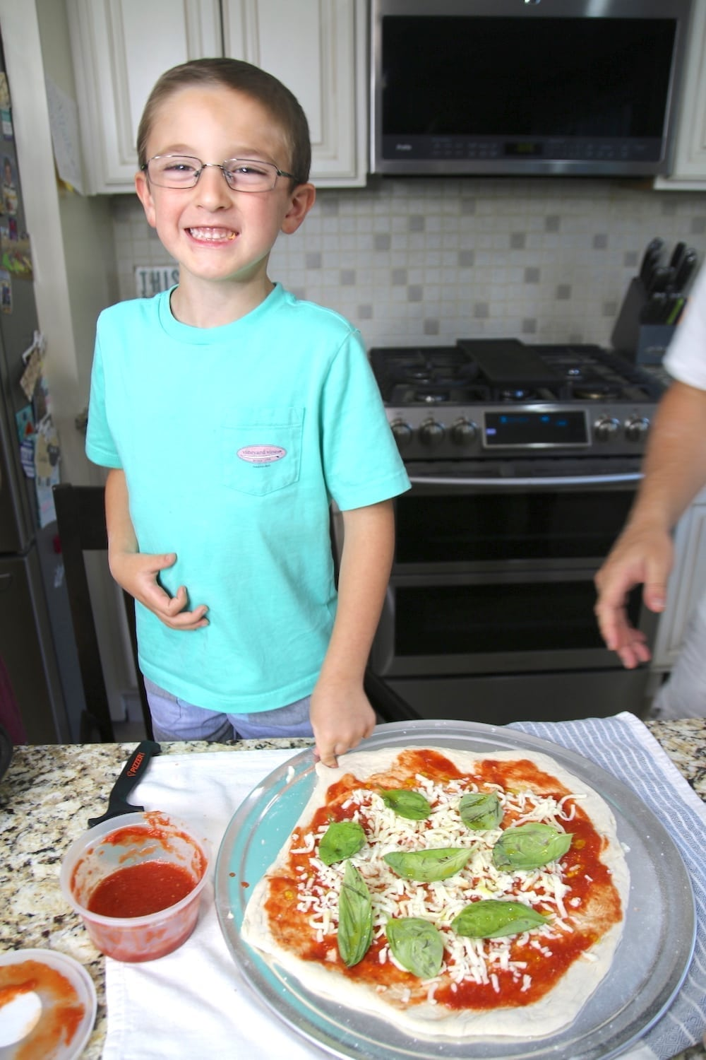 Pizzer Time pizza ready to bake