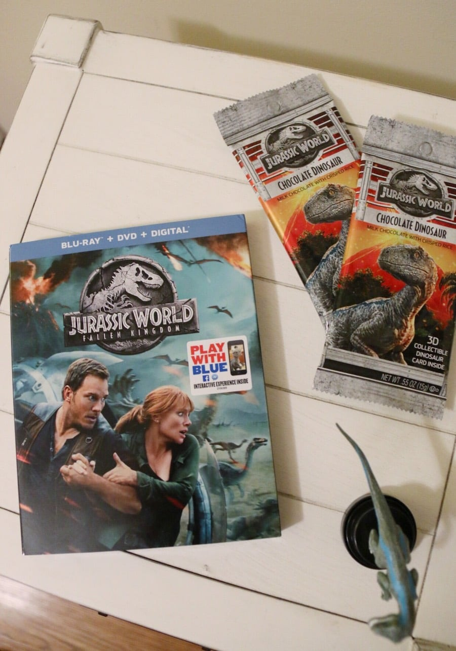 Jurassic Park Fallen Kingdom Blu-ray Party - blu-ray and more