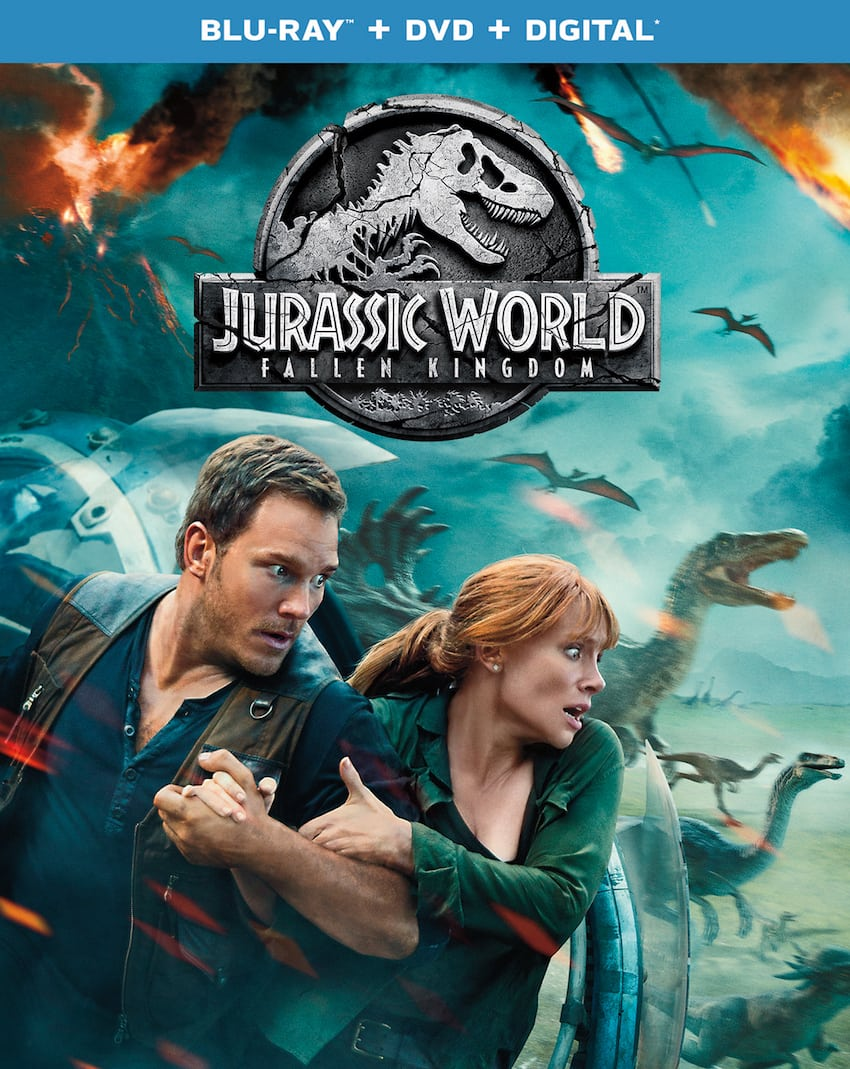 Jurassic World Fallen Kingdom-BluRay-Flat-Box