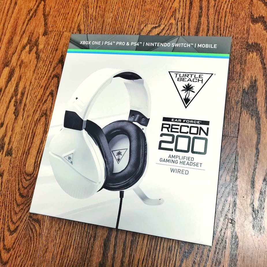 Turtle Beach Recon 200 Wired Headset