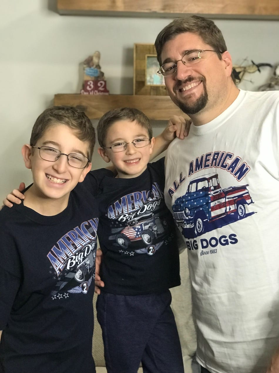 Big Dog Sportswear - dad and sons