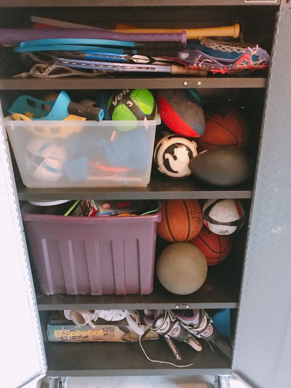 Gladiator storage of sports