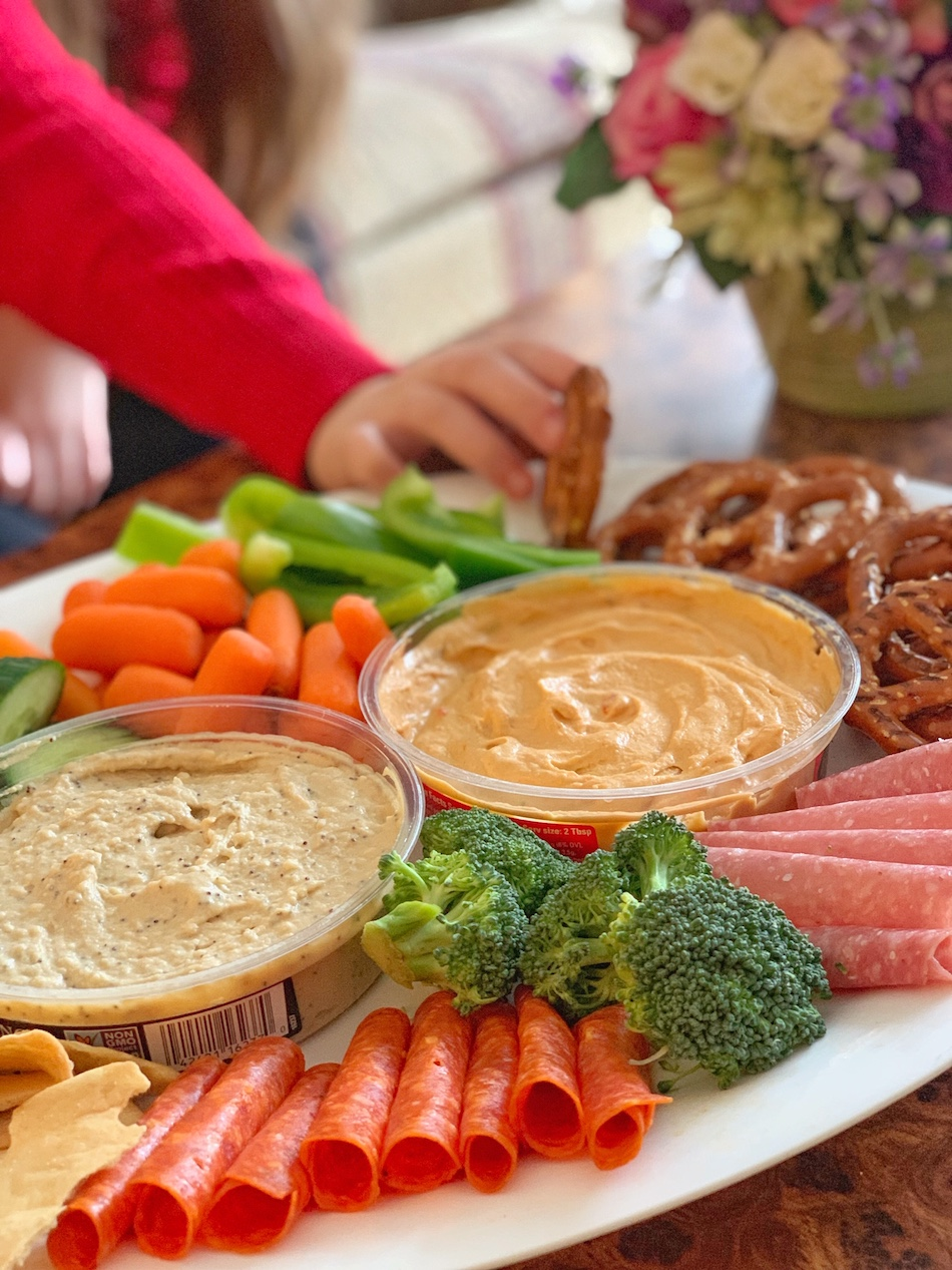 Boar's Head Hummus - savory platter dipping
