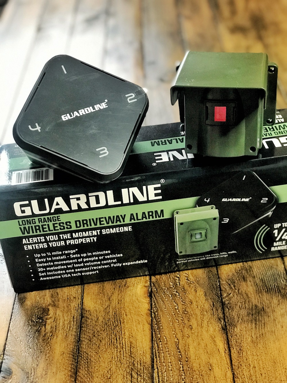 Guardline product and box
