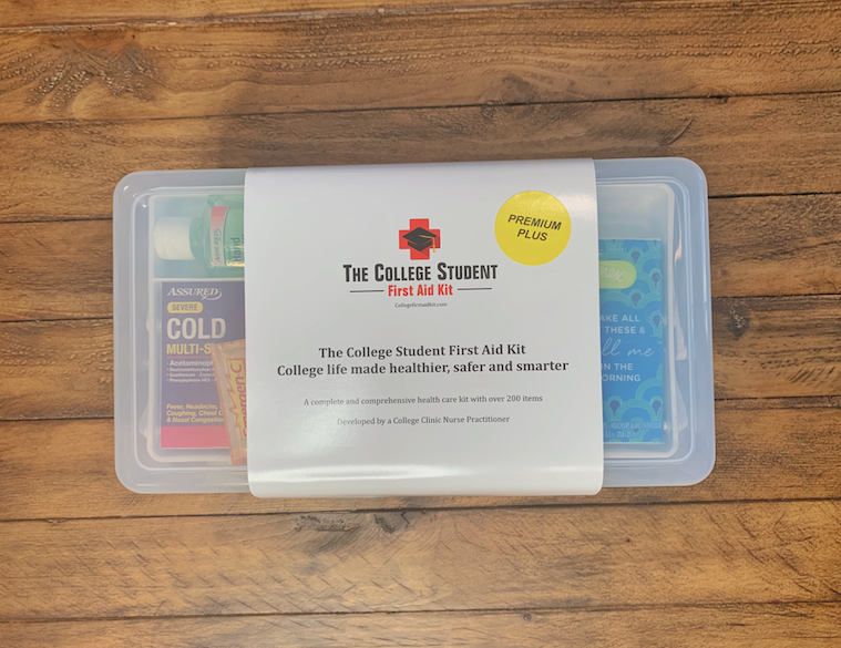 The College Student First Aid Kit box