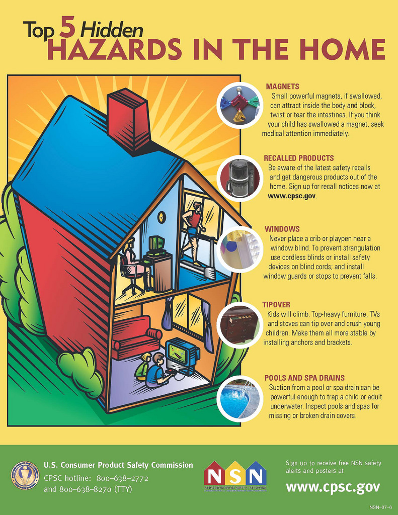 Top 5 Hazards in the Home