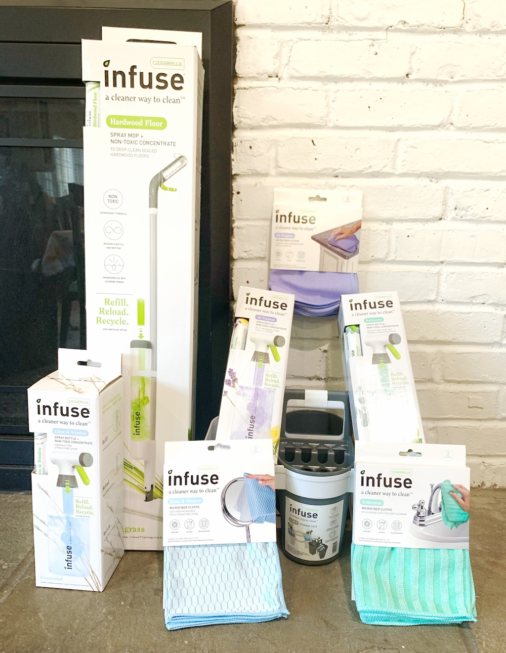 infuse cleaning products