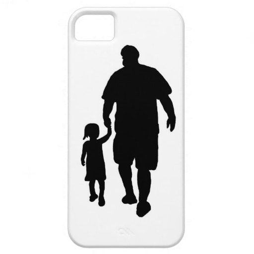 Father Daughter iPhone Case