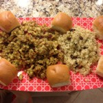 Thanksgiving 2012 Stuffing and Rice
